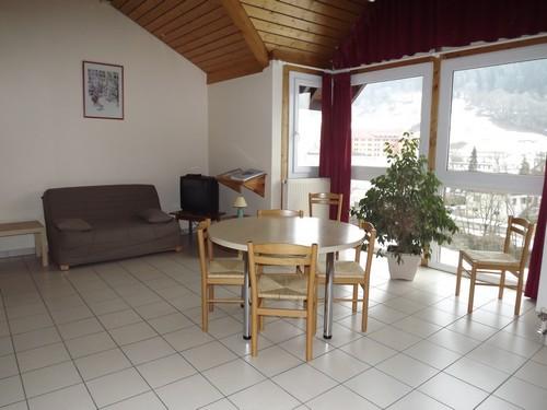 Exemple de salon dans nos appartements - Thônes en Haute Savoie