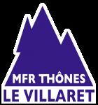 Logo MFR le Villaret