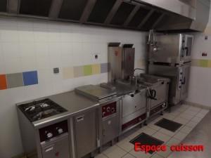 Espace cuisson