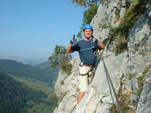 Via Ferrata - Thônes Haute Savoie