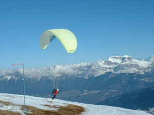 Sport - Parapente- Haute Savoie